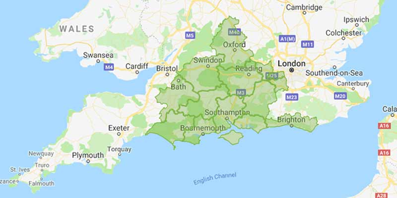 Easier Drives work in Bournemouth, Poole, Christchurch, London,  Dorset, Hampshire, Berkshire, Somerset, Sussex, Surrey and Wiltshire