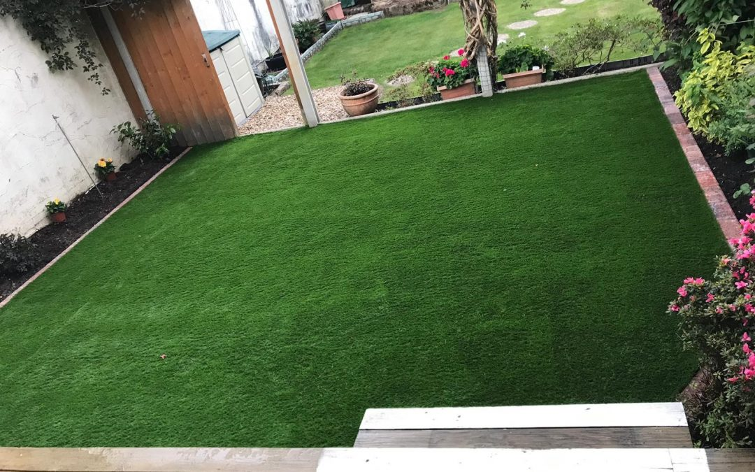 New Artificial Lawn with Full New Base – Muscliffe